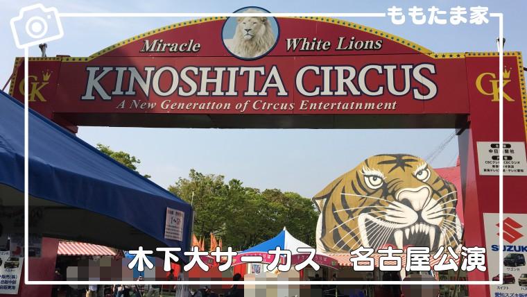 木下大サーカス名古屋公演のお得情報とおすすめ座席をまとめた体験レポ