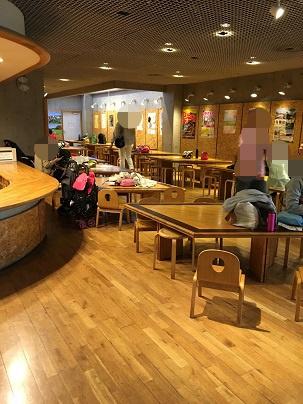 愛知県児童総合センター テーブル席1