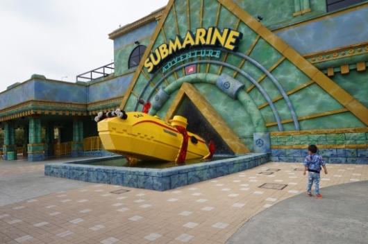 レゴランドのSubmarine Adventure(サブマリン・アドベンチャー)1