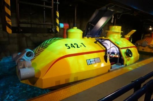 レゴランドのSubmarine Adventure(サブマリン・アドベンチャー)2