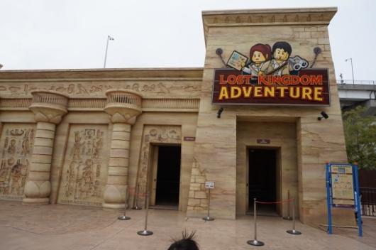 レゴランドのLost Kingdom Adventure(ロスト・キングダム・アドベンチャー)1