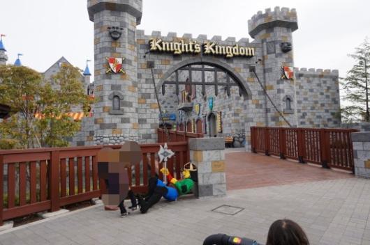 レゴランドのKNIGHT'S KINGDOM(ナイト・キングダム)1