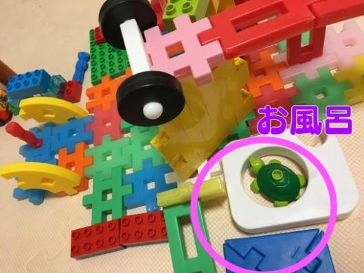 ニューブロックとレゴの家