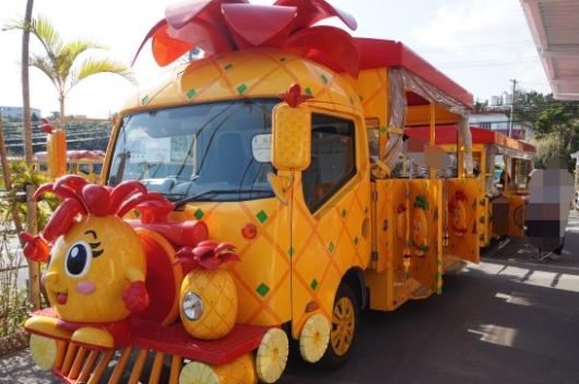 幼児(5歳と2歳)を連れた沖縄旅行のナゴパイナップルパーク