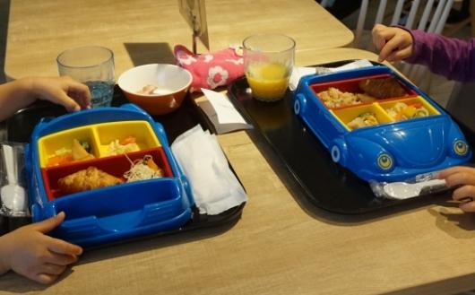 幼児(5歳と2歳)を連れた沖縄旅行のラ・ジェント・ホテル沖縄北谷の朝食