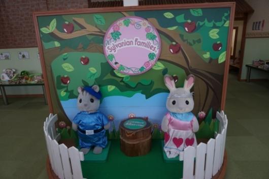 南知多おもちゃ王国のシルバニアファミリー館
