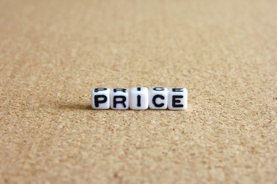 珈琲店で販売する価格を決める