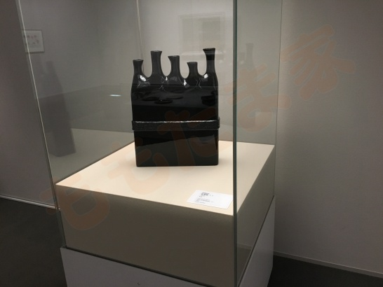 Toyota Municipal Museum of Art 豊田市美術館の高橋節郎の乾漆壺