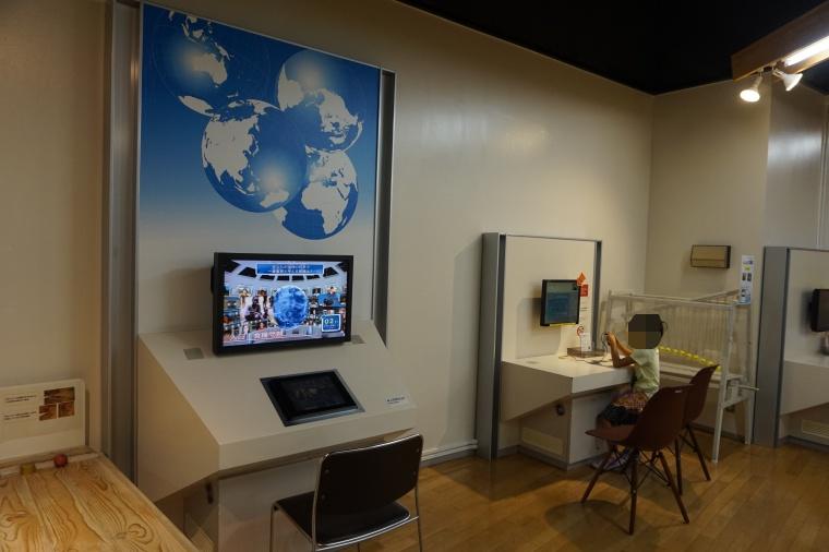 とよた科学体験館のゲーム装置