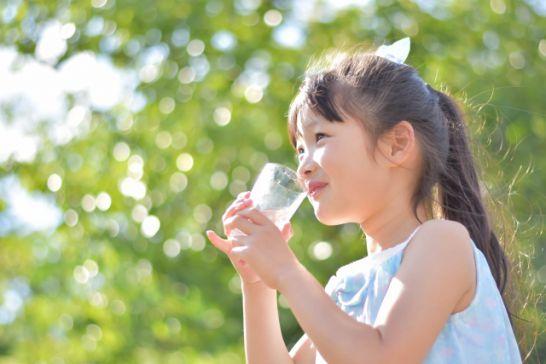 保育園に通い出して子供達が水分を取る習慣がついてきた