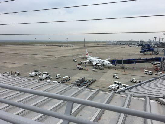 中部国際空港セントレアのスカイデッキ