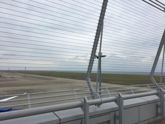 中部国際空港セントレアのスカイデッキの一番奥