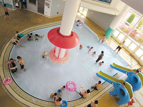 小牧市温水プールの子供プール