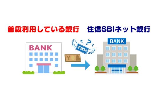 住信SBIネット銀行への入金
