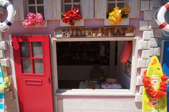 白い恋人パークのガリバータウン内のお店