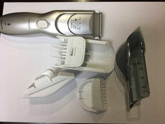 カットモードER-GF80の利用したアタッチメント一覧