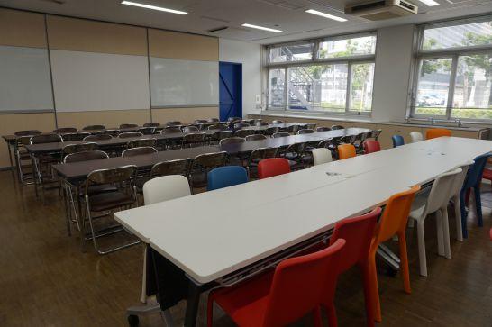 浜松科学館みらいーらの飲食持ち込み可能な無料休憩所
