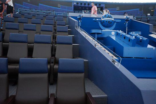 浜松科学館みらいーらのプラネタリウム・大型映像の座席