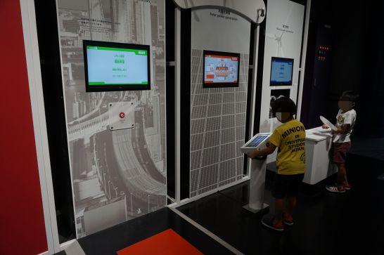 浜松科学館みらいーらの力ゾーンの発電装置