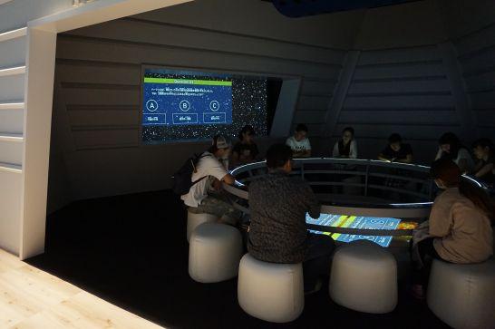 浜松科学館みらいーらの宇宙ゾーンのアクティブ・スペース・ミッション