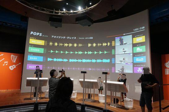 浜松科学館みらいーらの音ゾーンのアクティブ・サウンド・ライブ