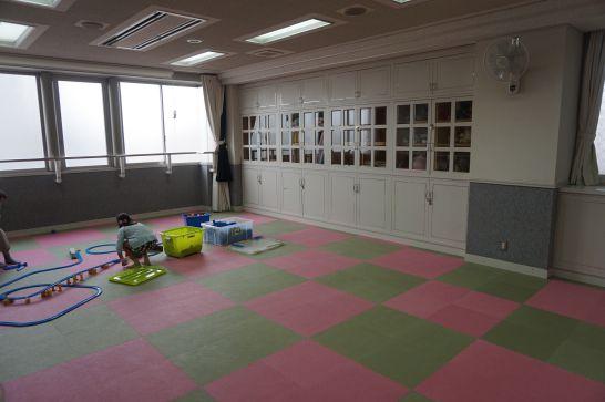 ドリームシアター岐阜の4階子どもエリアの広いホール