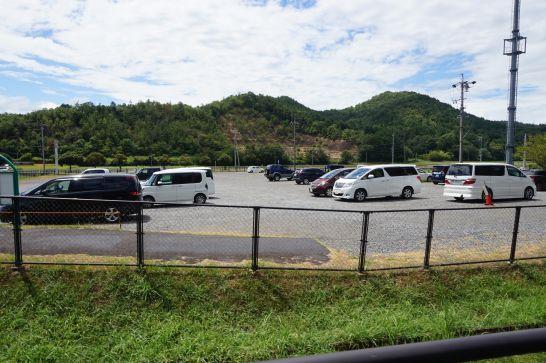 岐阜ファミリーパークの無料駐車場