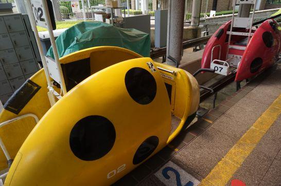 岐阜ファミリーパークのスーパーモービル