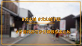 【子連れ体験談】犬山城、犬山城下町のおすすめ情報まとめ【口コミ】