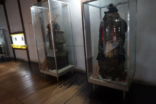 犬山城内の展示物