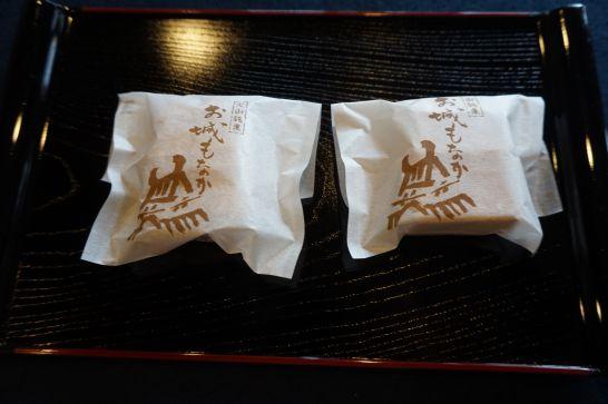 慶応2年創業の松栄本店のお城モナカ