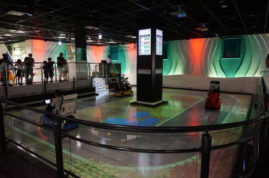 トヨタ産業技術記念館のテクノランドのテクノサーキット