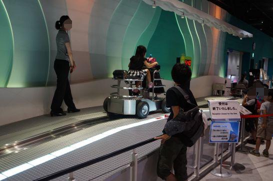トヨタ産業技術記念館のテクノランドのミッションでミッション