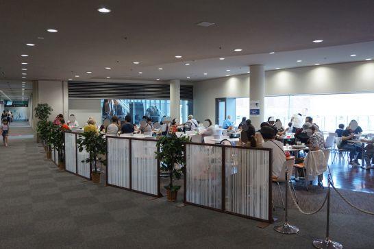 トヨタ産業技術記念館のミュージアムカフェ