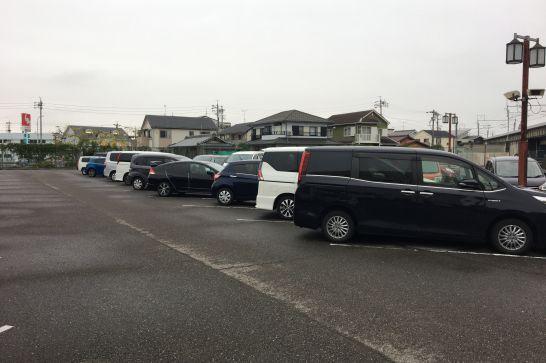 アルコ清州の駐車場
