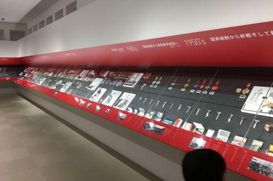フェザーミュージアムの1階展示室