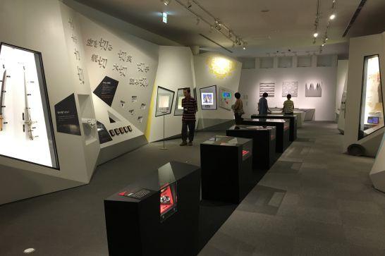 フェザーミュージアムの2階展示室