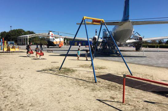 岐阜かかみがはら航空宇宙博物館の公園
