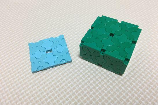 LaQ(ラキュー)の平面と立体