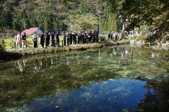 モネの池の周辺