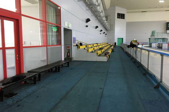 愛・地球博記念公園(モリコロパーク)のアイススケート場の観覧席