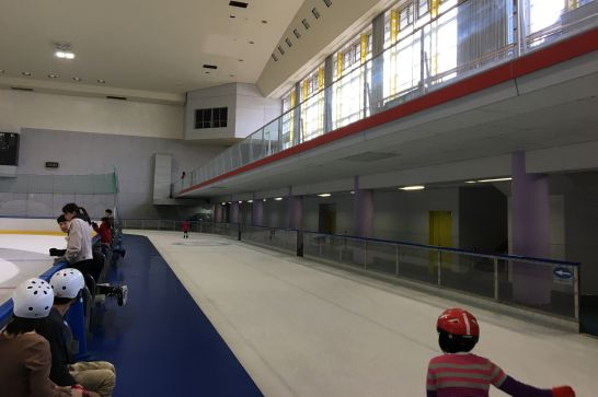 愛・地球博記念公園(モリコロパーク)のアイススケート場のコース