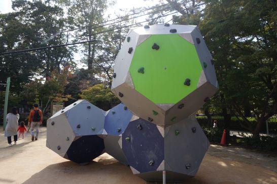 岡崎市東公園の遊具