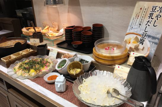 THE BUFFET WORLD TABLE(ビュッフェワールドテーブル)の日本料理
