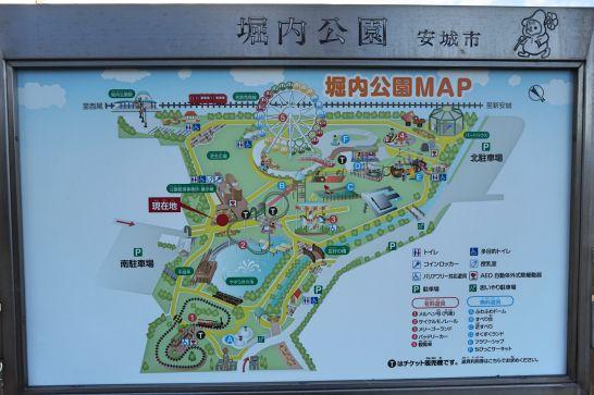 堀内公園のマップ