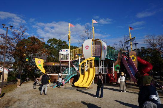 堀内公園の大型遊具