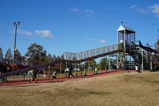 堀内公園のローラー滑り台
