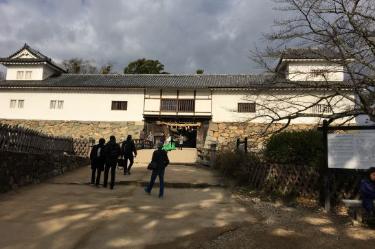 彦根城の天秤櫓