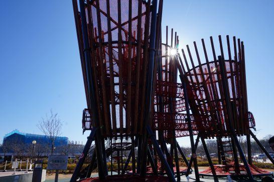 ぎふ清流里山公園の無料で遊べる遊具
