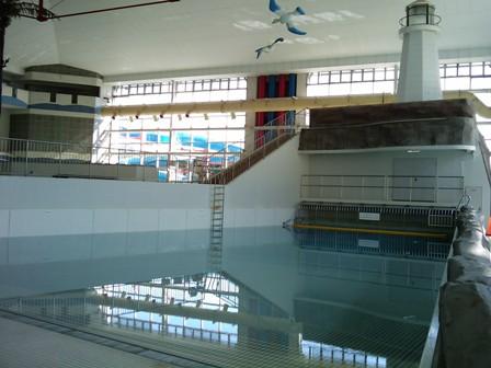 マーメイドパレスの造波プール
